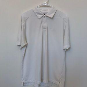 Patagonia Sz L Mens Short sleeve White Polo